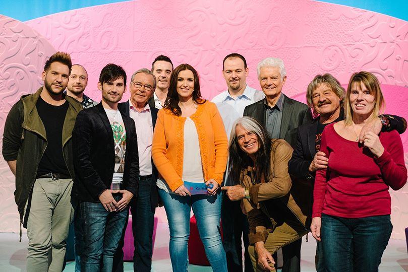 Barbara Karlich Show mit Waterloo & Robinson