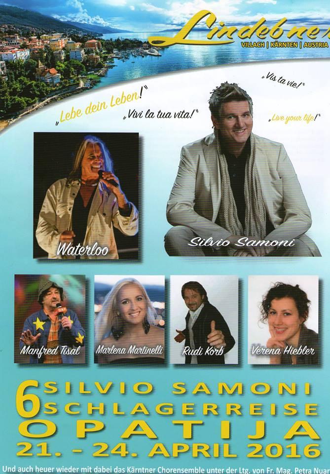 Schlagerreise mit Silvio Samoni