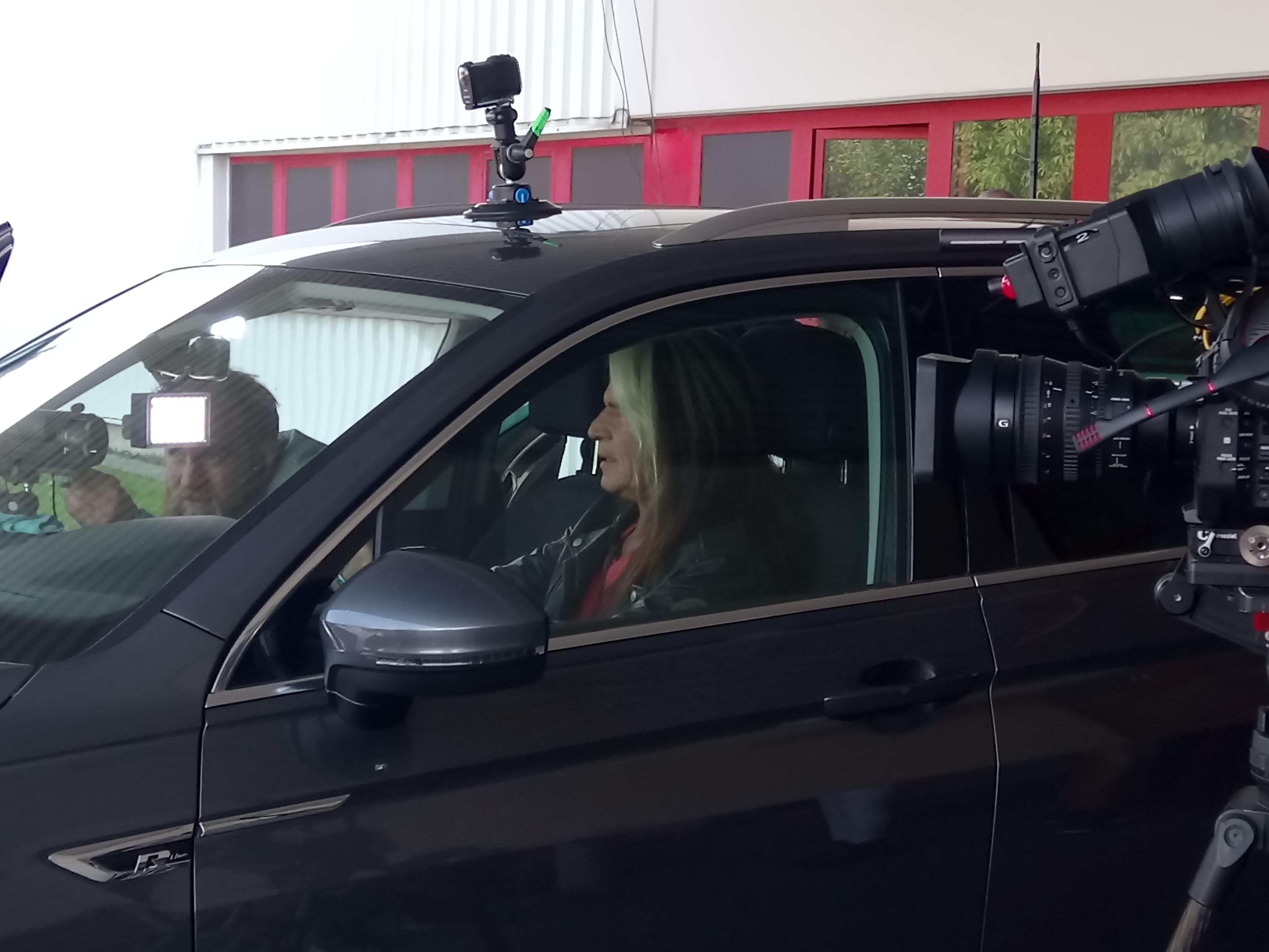 Sitzprobe vor dem Start in den Autoparcours