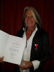 Waterloo erhält die Kulturmedaille des Landes Oberösterreich