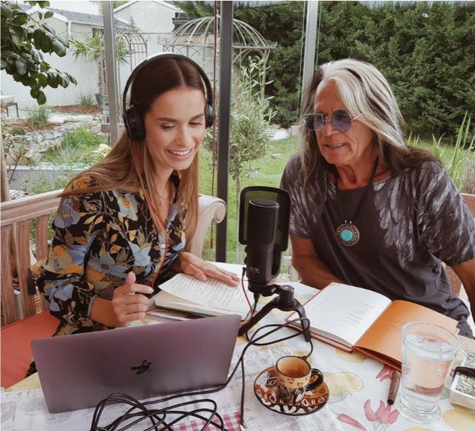 Tatjanas Podcast mit ihrem Vater