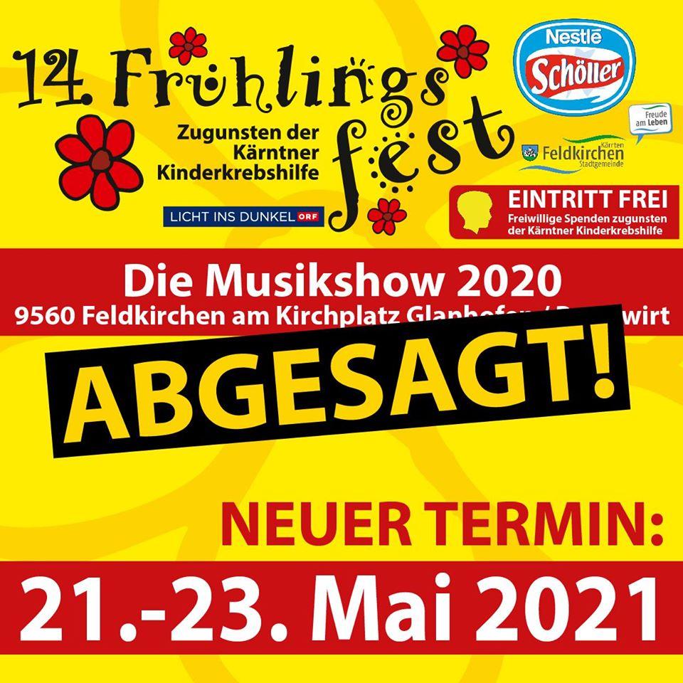 ACHTUNG – ABGESAGT!! Frühlingsfest Glanhofen